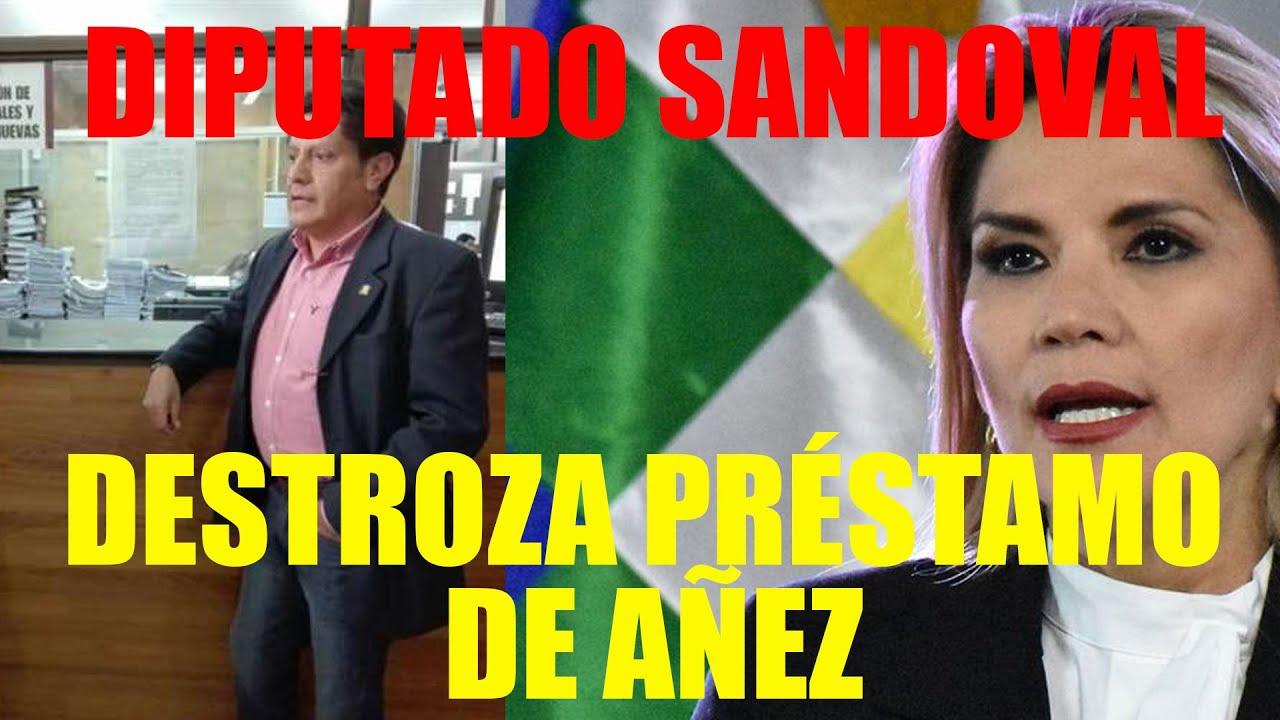 DIPUTADO HUGO SANDOVAL DE UNIDAD DEMÓCRATA: PROPONE RECHAZAR LA LEY DE PRÉSTAMO DEL FMI