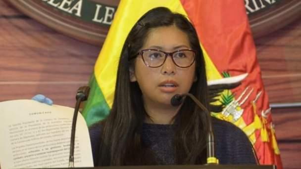 Eva Copa: La derecha busca eliminar al MAS porque no le ganará en las urnas