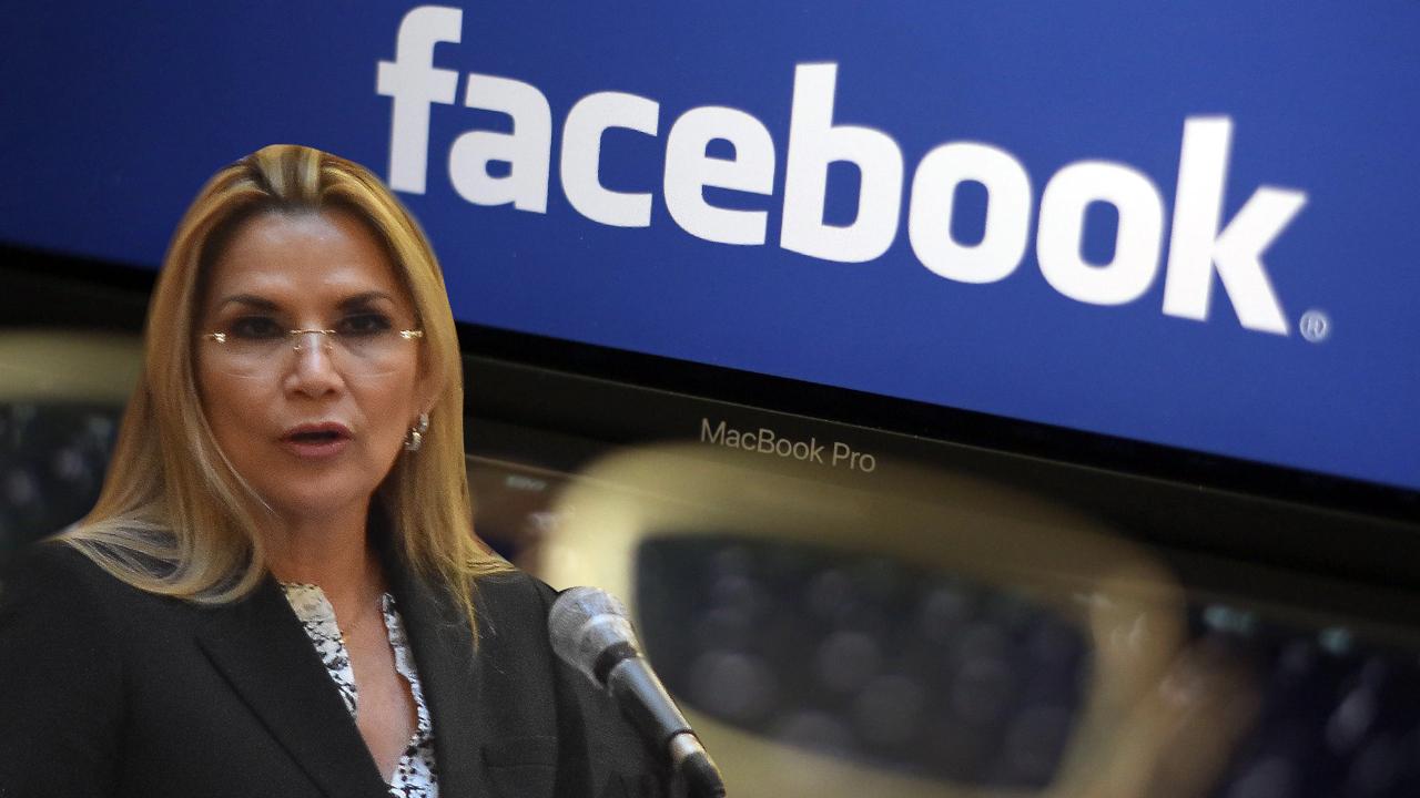 Añez contrató a un exfuncionario de la OEA para crear cuentas falsas y fake news